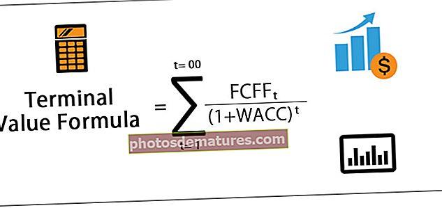 Fórmula del valor terminal