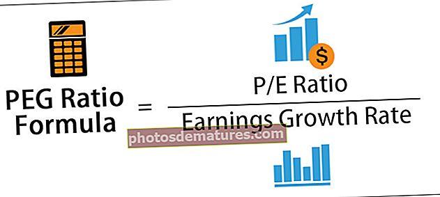 Fórmula de la relació PEG