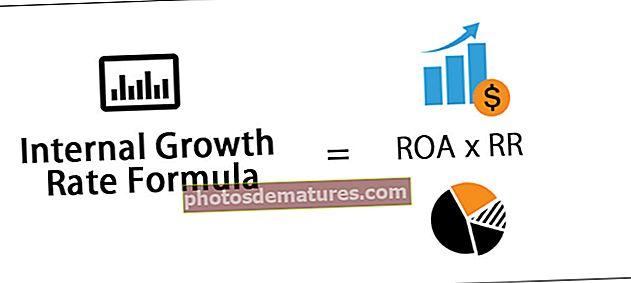 Fórmula de taxa de creixement intern